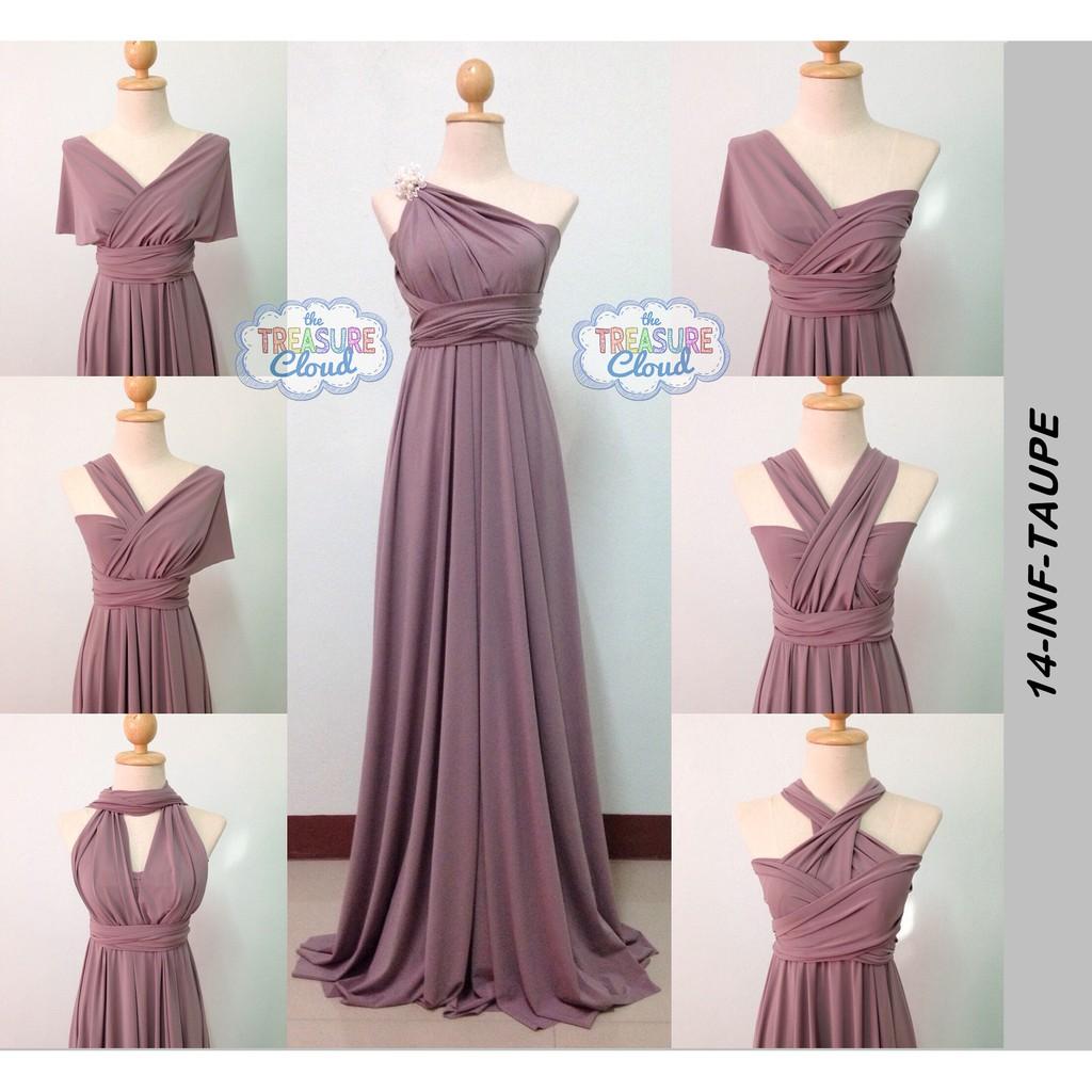 fa8213f8388 (BURGUNDY) Infinity Dresses   Bridesmaid Dresses