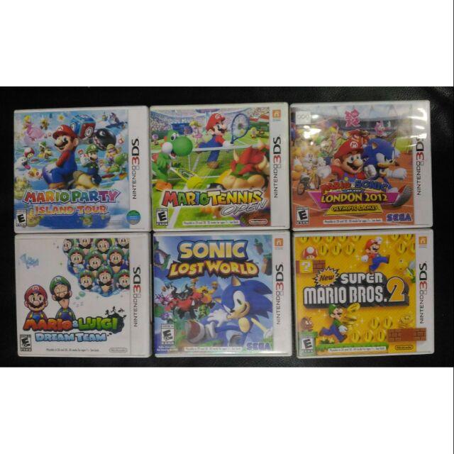 GET P100 OFF Nintendo Sega Mario Sonic 3DS Games