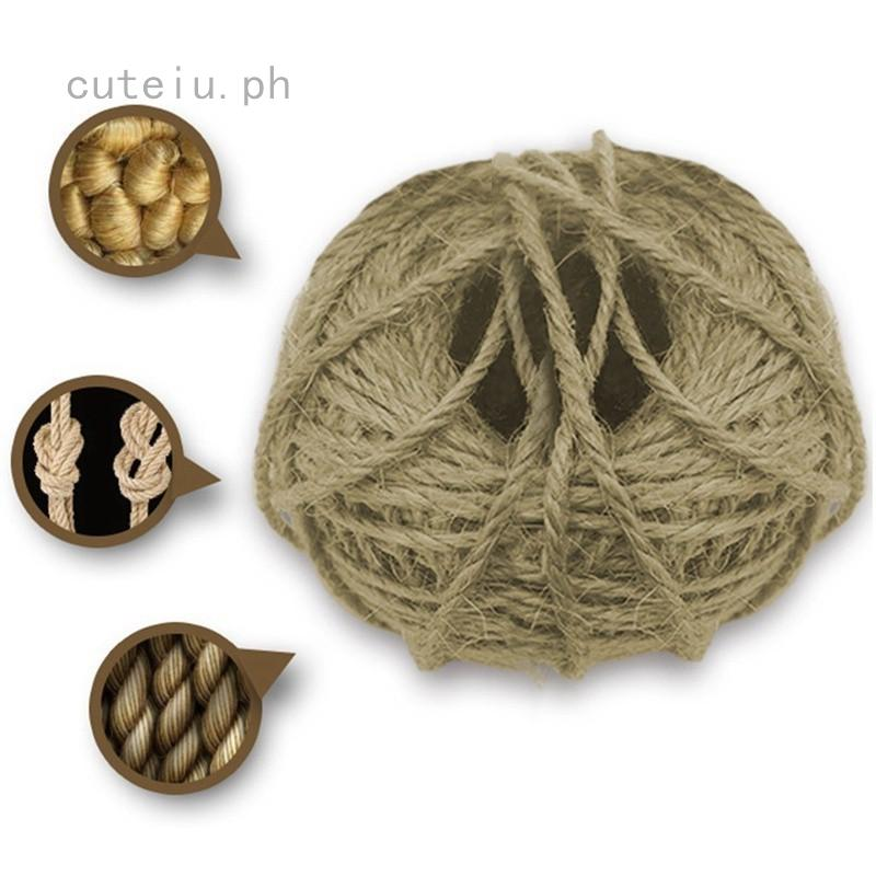 Awe Inspiring 50M Sisal Rope Cats Scratching Post Toys Making Diy Desk Alphanode Cool Chair Designs And Ideas Alphanodeonline