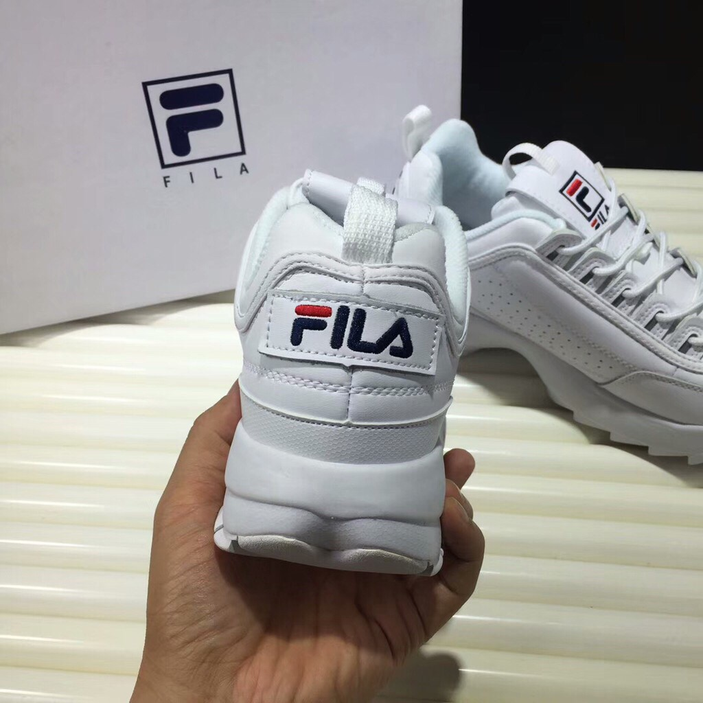Fila Disruptor II 2 Generation White Korea Women Shoes
