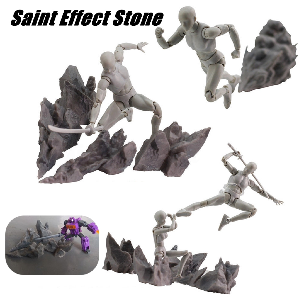 Tamashii Screw Impact Effect for Kamen Rider Figma SHF Action Figure Kick Model