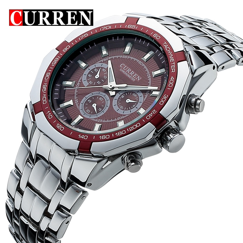cfc14444ae9 curren watch - Watches Prices and Online Deals - Men s Bags   Accessories  Dec 2018