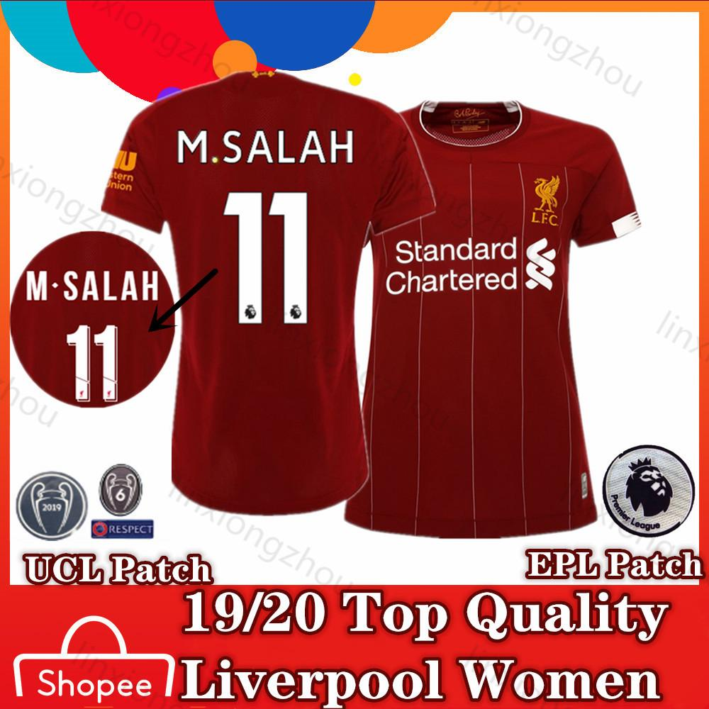 watch ab067 664db Top Quality 19/20 Liverpool Woman Home Jersey Football ...
