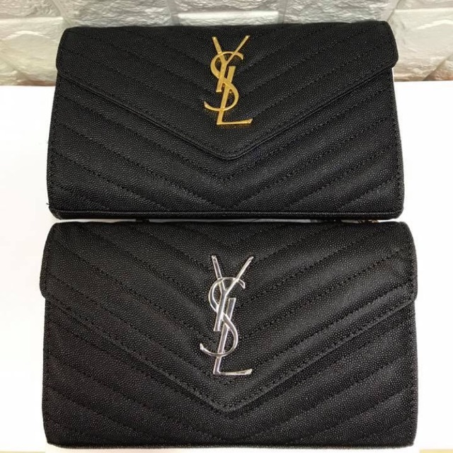 4e3c87227dcb Yves Saint Laurent Monogram Envelope Clutch WOC YSL Clutch