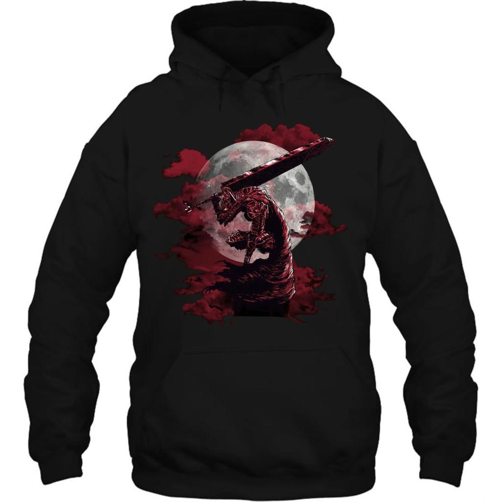 BERSERK Guts Cosplay Unisex Coat Anime Thicken Warm Jacket Hooded Sweater