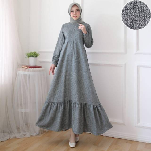 Gamis In Diamond Material Adem Material Can Cod Shopee Philippines