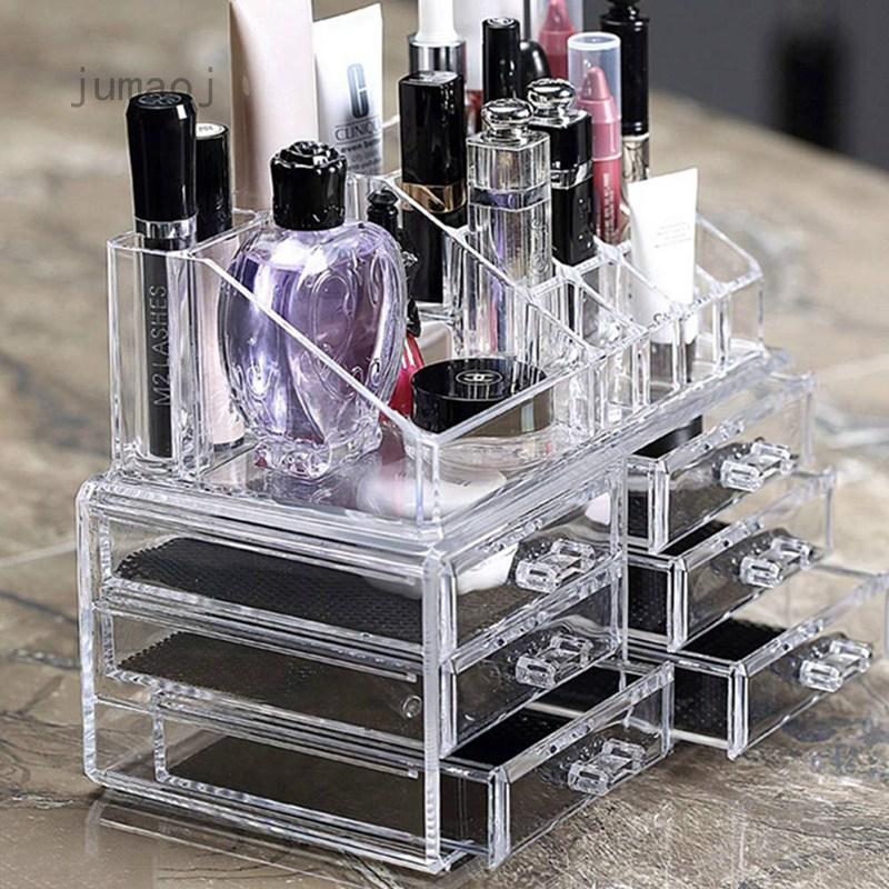 Jumaoj Acrylic Makeup Box Drawer