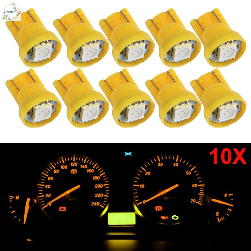 10PCS T10 194 W5W COB Silicone Shell LED Lights Car Width Light Door light  I