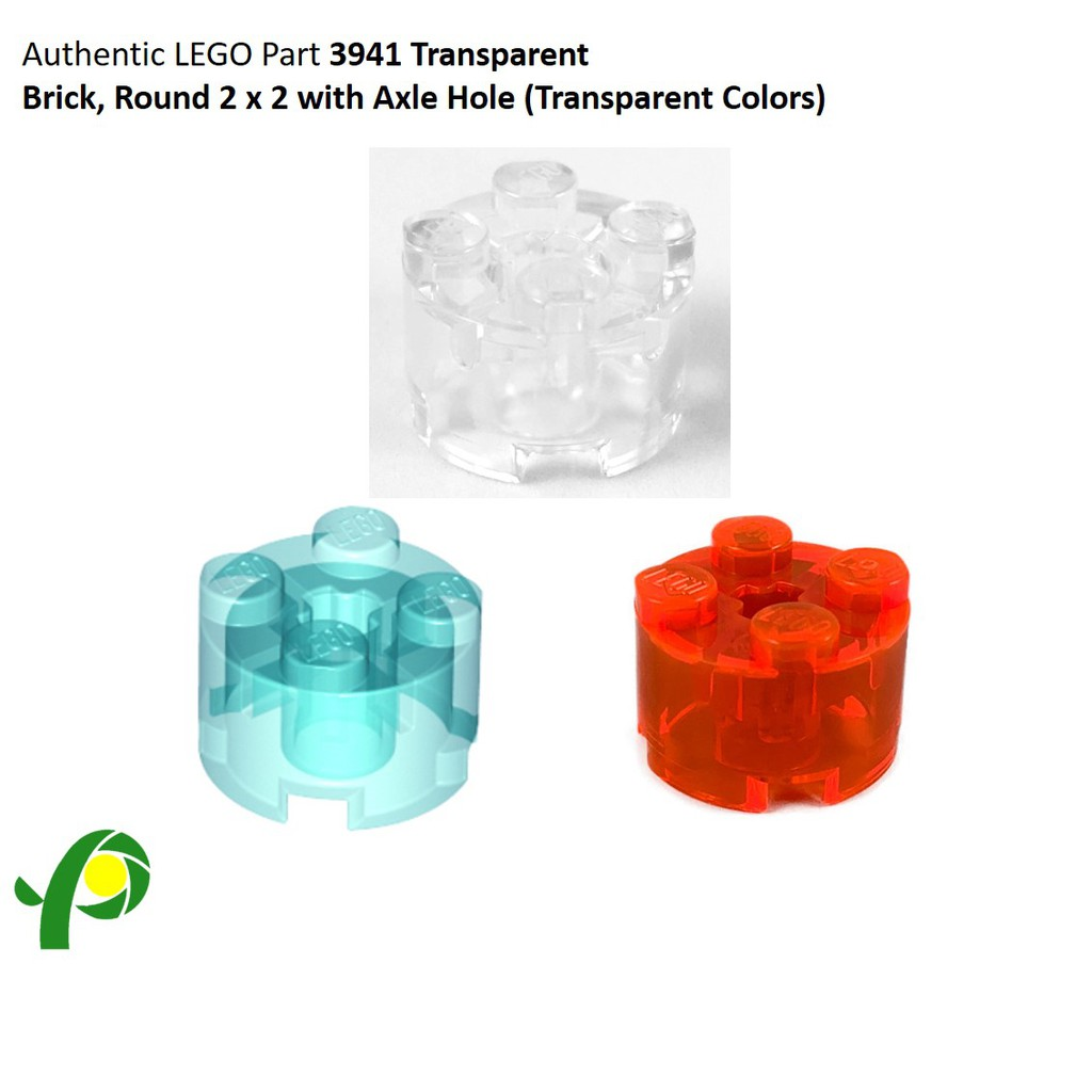 Lego Brick Round 2 x 2 with Axle Hole Parts Pieces Lot ALL COLORS