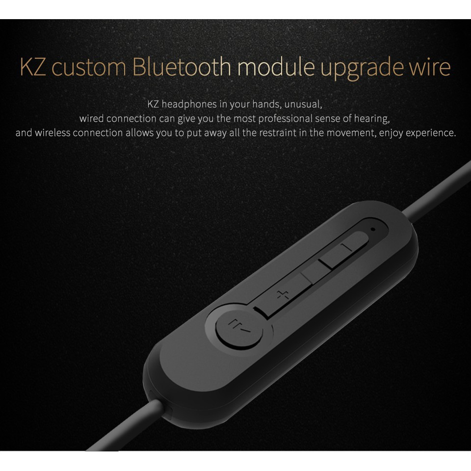 c39f84c4f42 Bluetooth Upgrade Wireless Cable for KZ ZSR ZS3 ZS5 ZS6 ZS10 | Shopee  Philippines