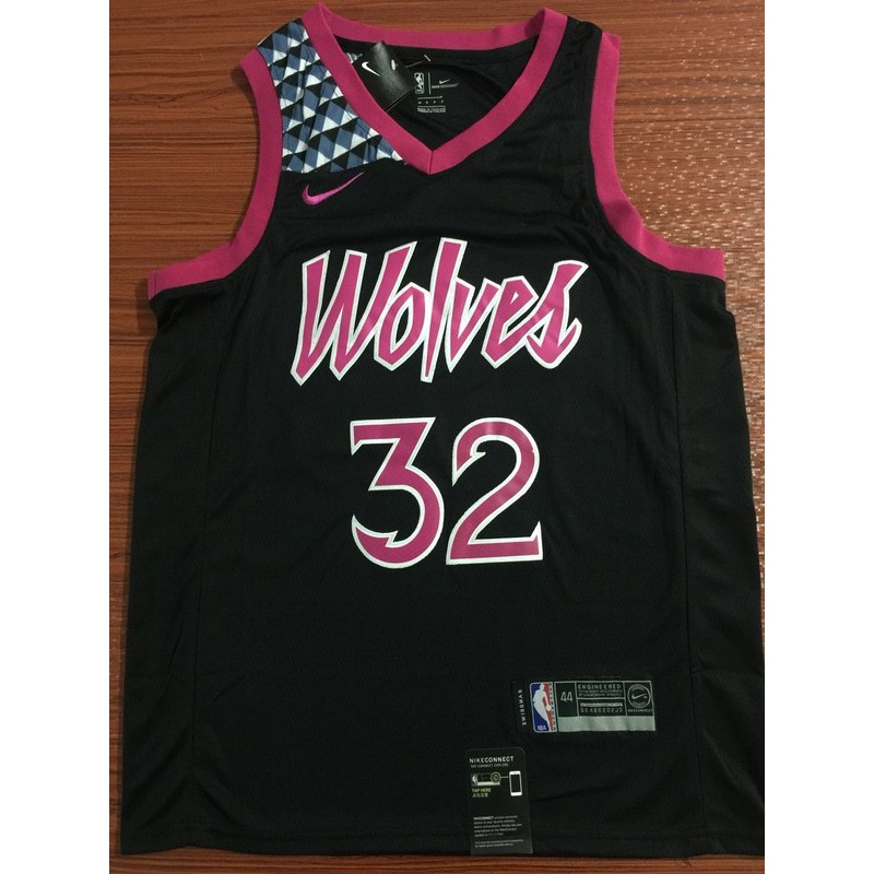 Nike Minnesota Timberwolves Karl Anthony Towns Nba Jersey 32