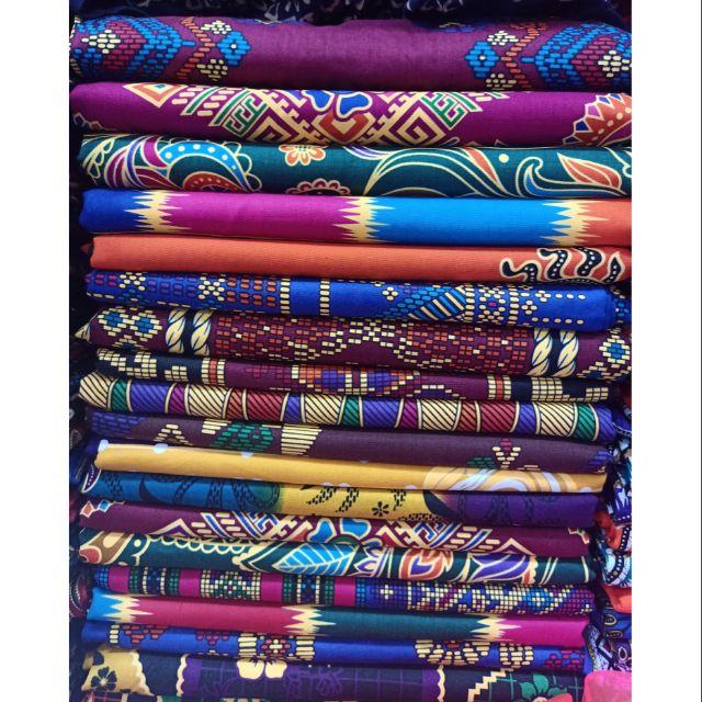 Malong Rosalinda First Class New Design Double Batik