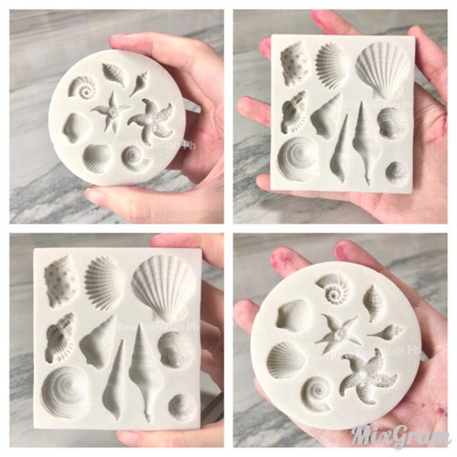 Shell Silicone Mold