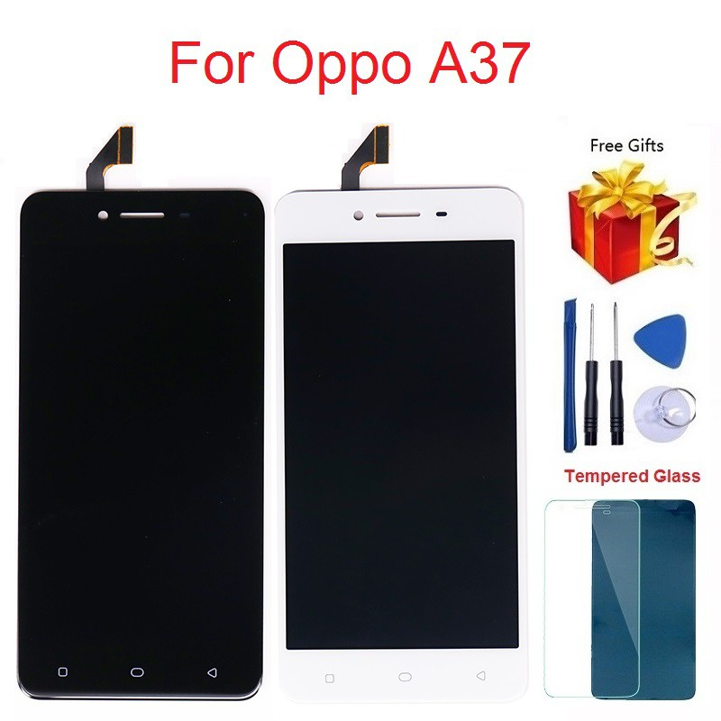 For Oppo A37 LCD Display Touch Screen Digitizer Assembly