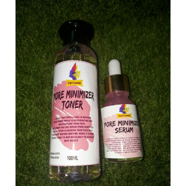 Pore Minimizer Set Toner Serum With Pore Reductyl Shopee
