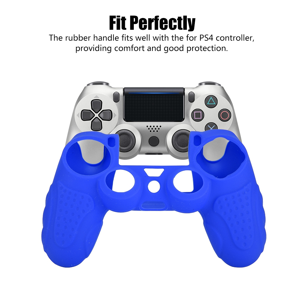 Anti-skid Silicone Game Console Protection Case For PS4