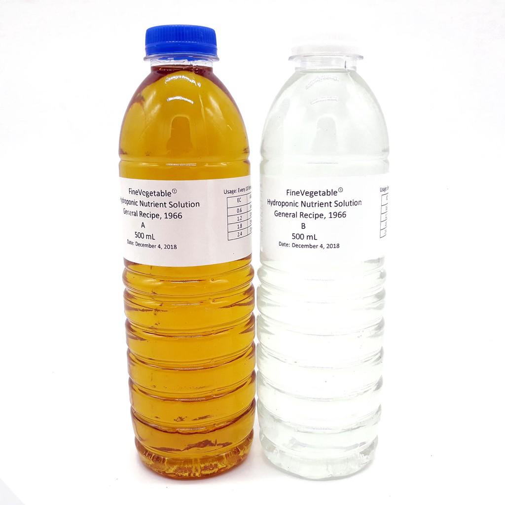 General Hydroponics Nutrient Solution Set Fertilizer
