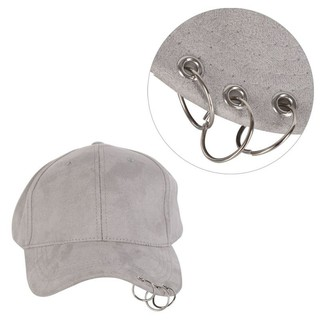 ffb56a8f4c1 Fashion Hip Hop Adjustable Unisex Cap Dance Show Hats with Rings Hot Sales
