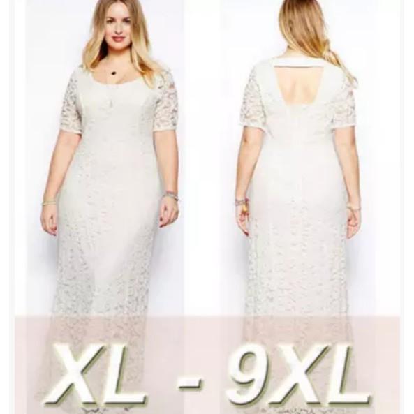 Super Plus Size Dresses Wedding Women Long Dress