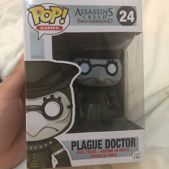 Funko Pop Plague Doctor Assassin S Creed Brotherhood Figure