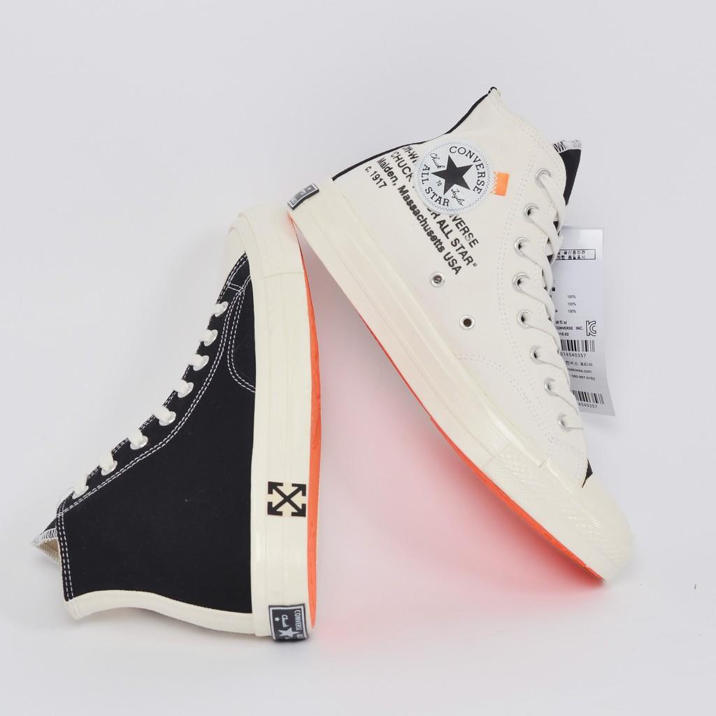 Objetor Tesoro encuentro  Promo 12.12 Converse 70s X Off White Virgil Premium Shoes   Shopee  Philippines