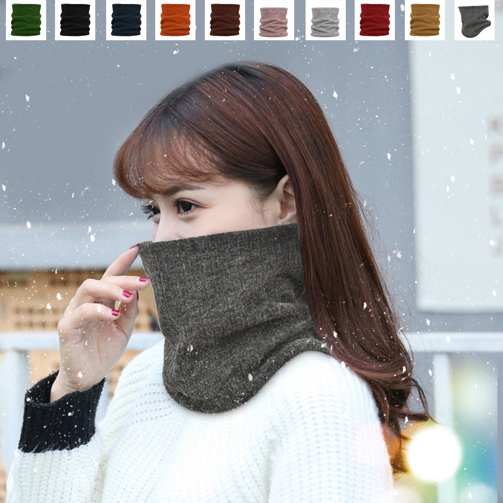Camping Skiing Hiking Outdoor Activities Sub Winter Warm Outdoor Thermal Snood Neck Warmer Fishing Multi Use Outdoor Tube Scarf for Riding