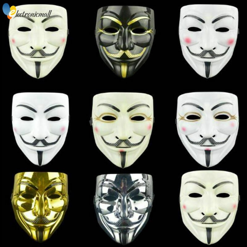In Stock Anonymous Hacker V For Vendetta Guy Fawkes Fancy