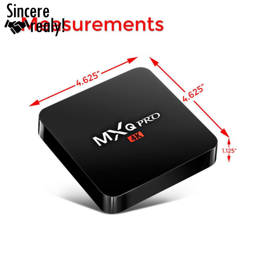 free shipping! MXQ Pro Smart TV BOX Loaded 4K Android6 0 Quad Core 2+16GB
