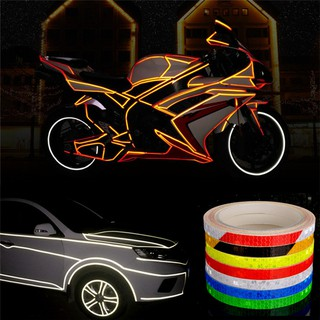 Car Reflective Sticker Safety Stickers Cycling Auto Bicycle