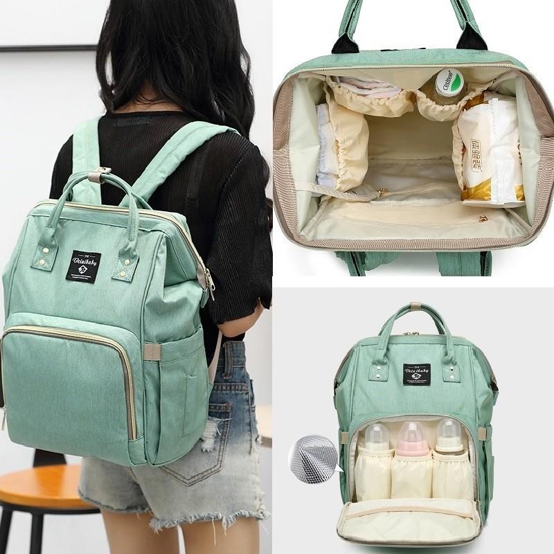 934f716168 Backpack Mummy Bag Maternity Nappy Diaper Bag Large Capacity Baby Travel Bag