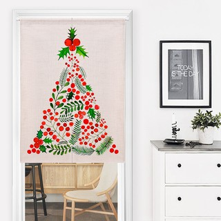 Simple Christmas Tree Decorations Philippines.Nordic Simple Door Curtain Christmas Tree Decoration Door Cu