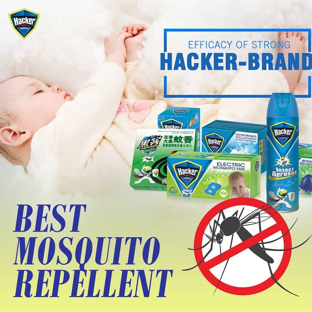 100 Original Hacker Electric Mosquito Repellent Set Heater And Liquid Anti Dengue Shopee Philippines