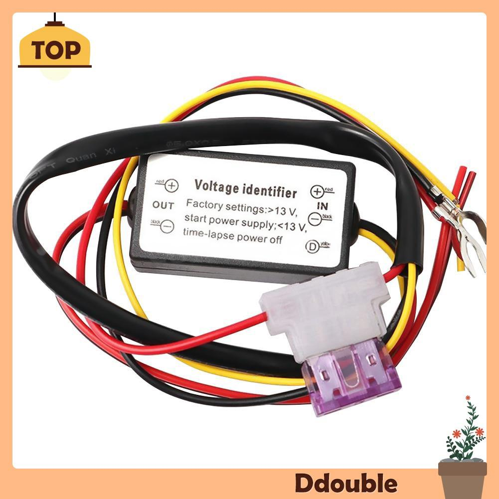 DRL Controller Auto Car LED Daytime Running Light Relay Harness Dimmer On//Off