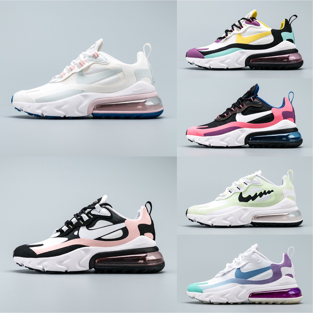 new appearance new york lace up in Original Nike Air Max 270 React Women Running Shoes Sports Shoes ...