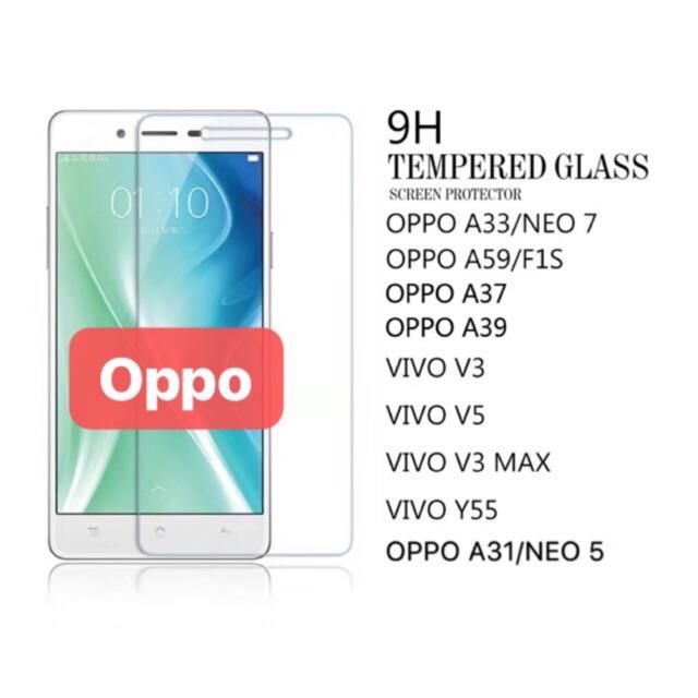 OPPO TEMPERED GLASS A3s A5s A35 A37 A59 A71 F3 F3plus F5