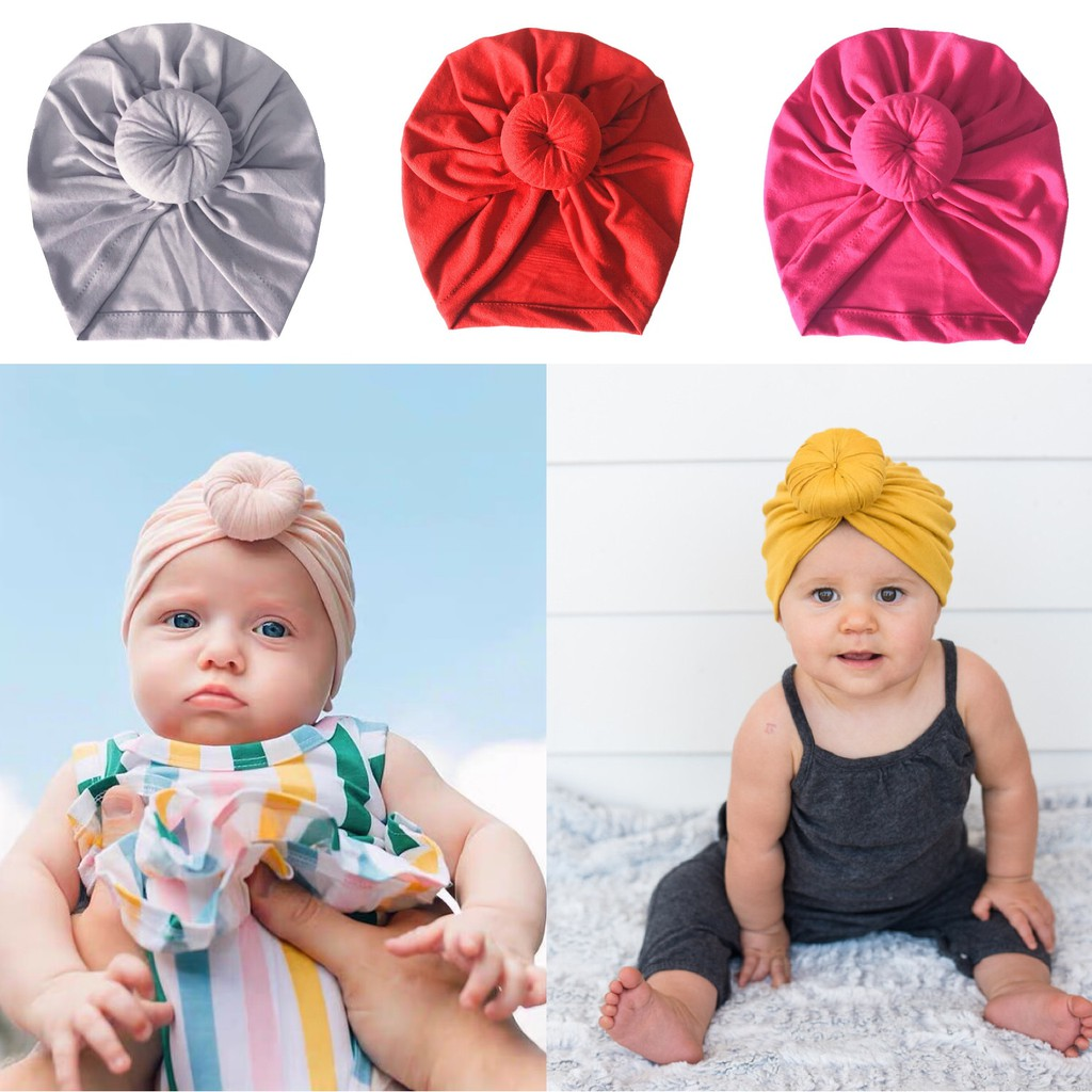 Baby Indian Style Twist Knot Bonnet Chemo Turban Cap Beanie Hat Head Scarf Wrap Shopee Philippines