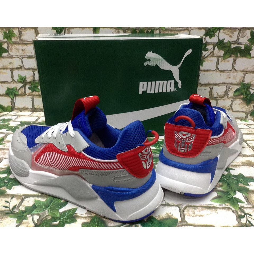 Rubber Optimus Prime Transformers Men's X Sneakers Puma Rs hQrtdCxs