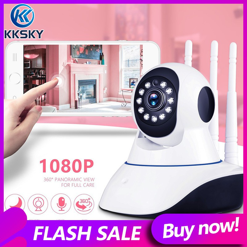 1PC New Black Night Vision IR Webcam Web CCTV Camera WiFi