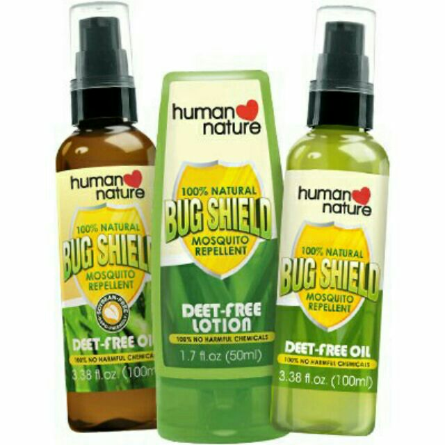 Human Nature Bug Shield Oil Lotion Mosquito Repellent