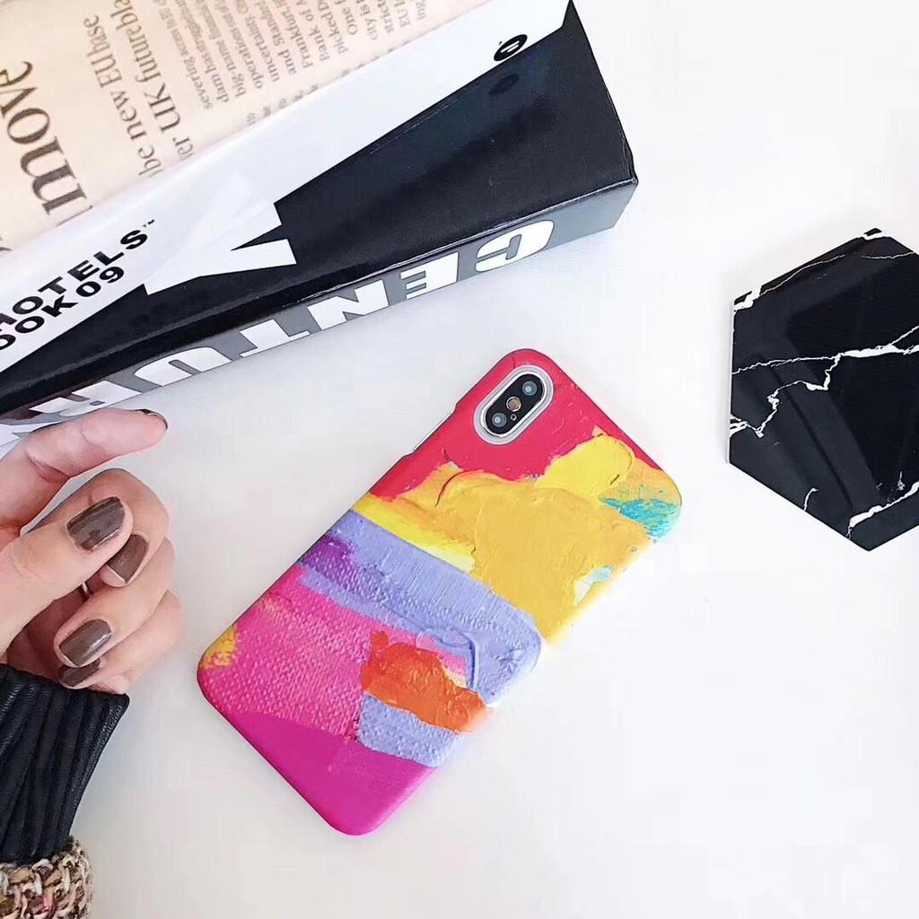 Hard Iphone 8 Plus Case Rainbow Pc 7 6 6splus X Custom Hardcase Midnight Dots 4 5 5c Shopee Philippines