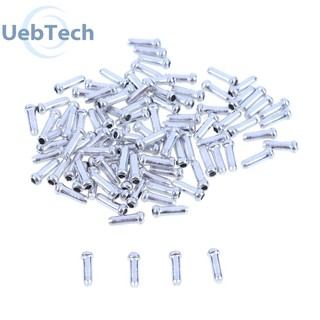 Domybest 50pcs Aluminum Bike Bicycle Brake Shifter Inner Cable Tips Wire End Cap