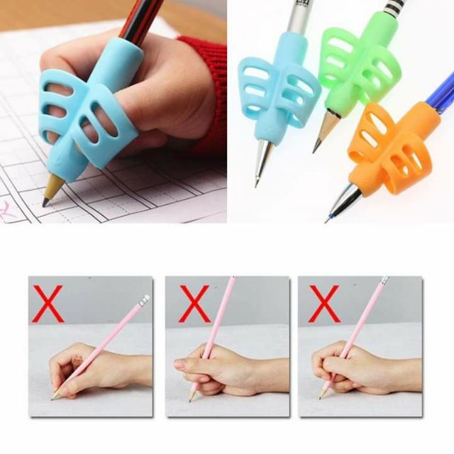 Pencil Holder Pen Writing Grip Posture Correction