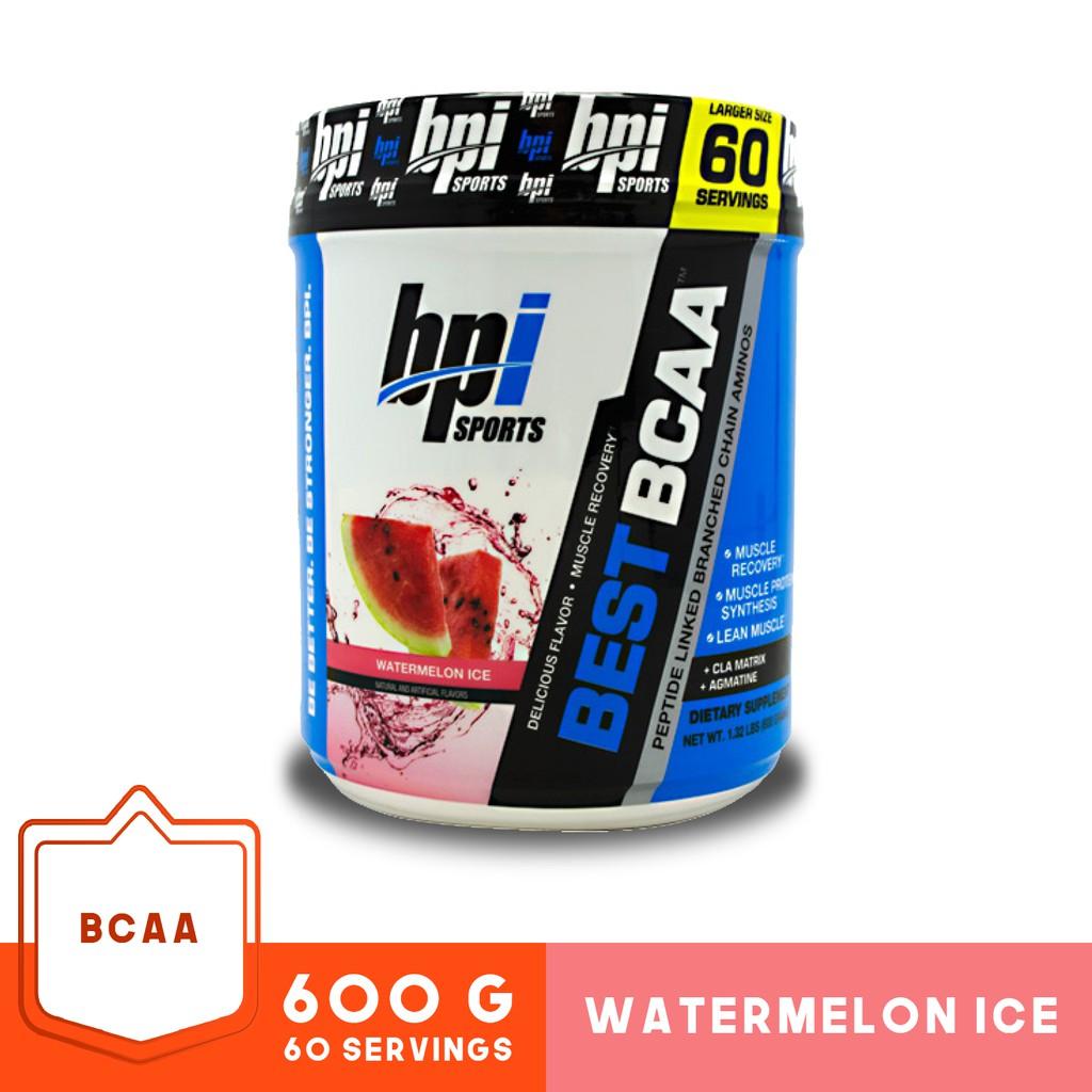 BPI Sports Best BCAA - 60 Servings Watermelon Ice