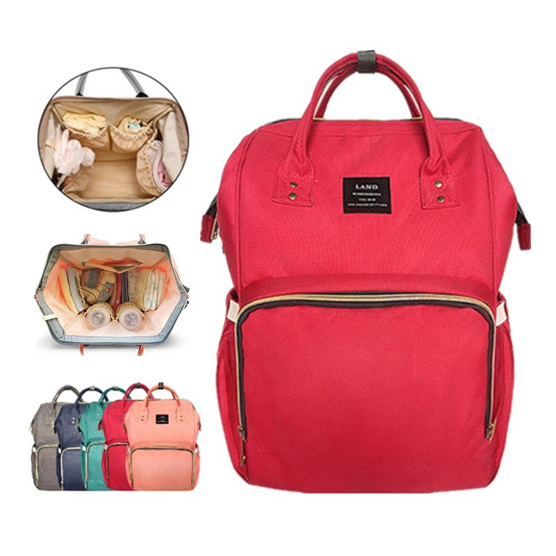 6261e0ae32 ONHAND LAND Mommy Maternity Nappy Large Diaper Bag - RED