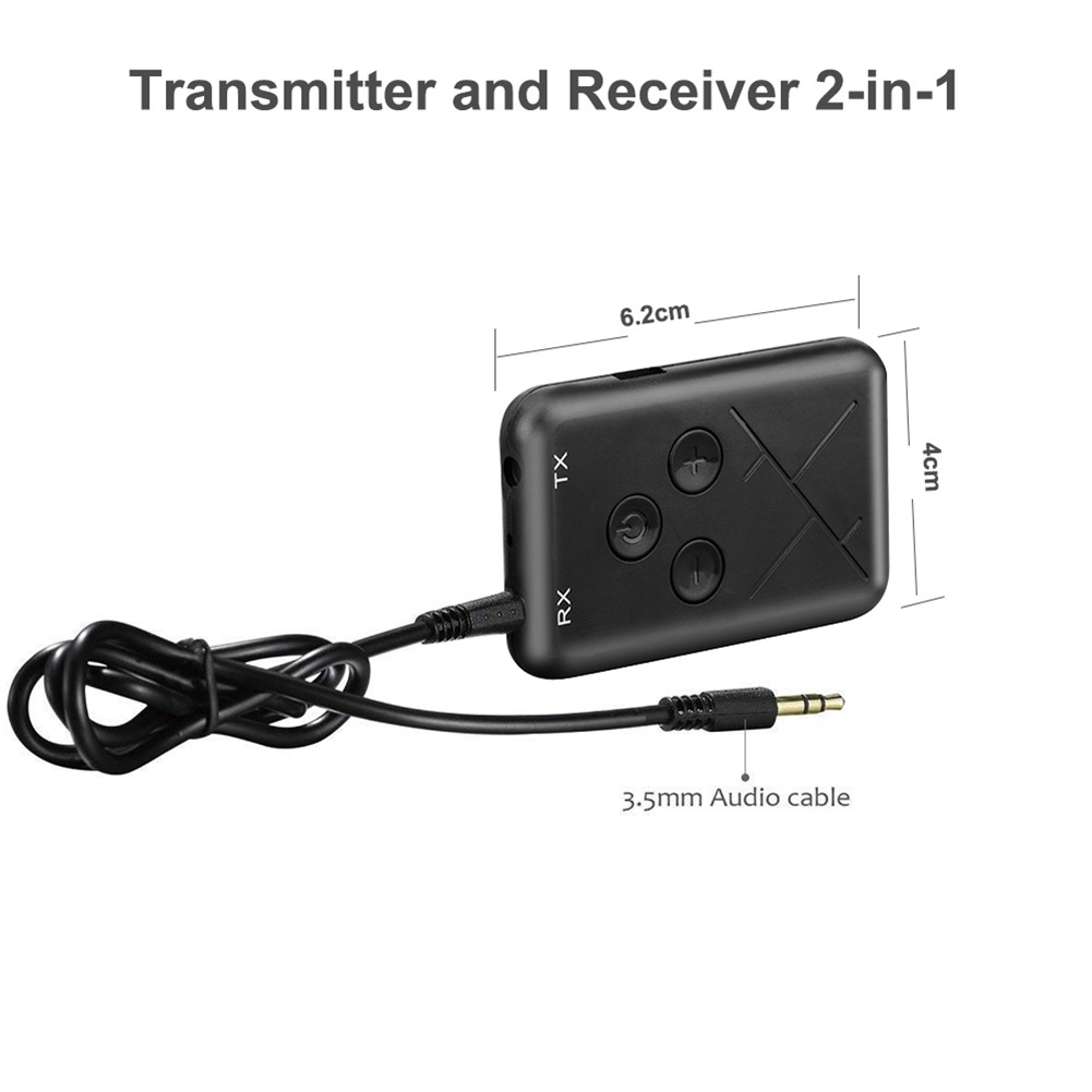 2 in 1 HOT4.2 Audio Stereo Music Transmitter Reciver Adapter For TV//PC//MP3