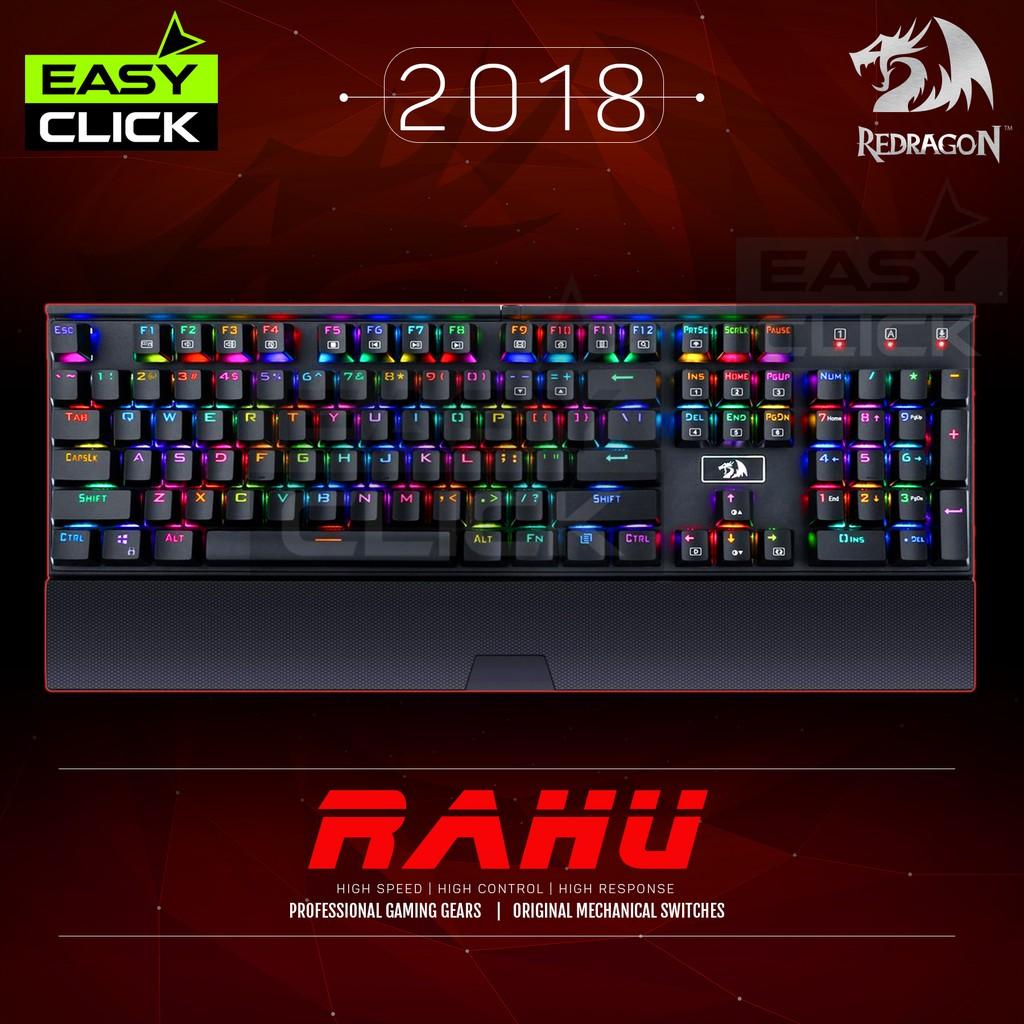 Redragon Rahu K567 Mechanical Gaming Keyboard RGB 2018