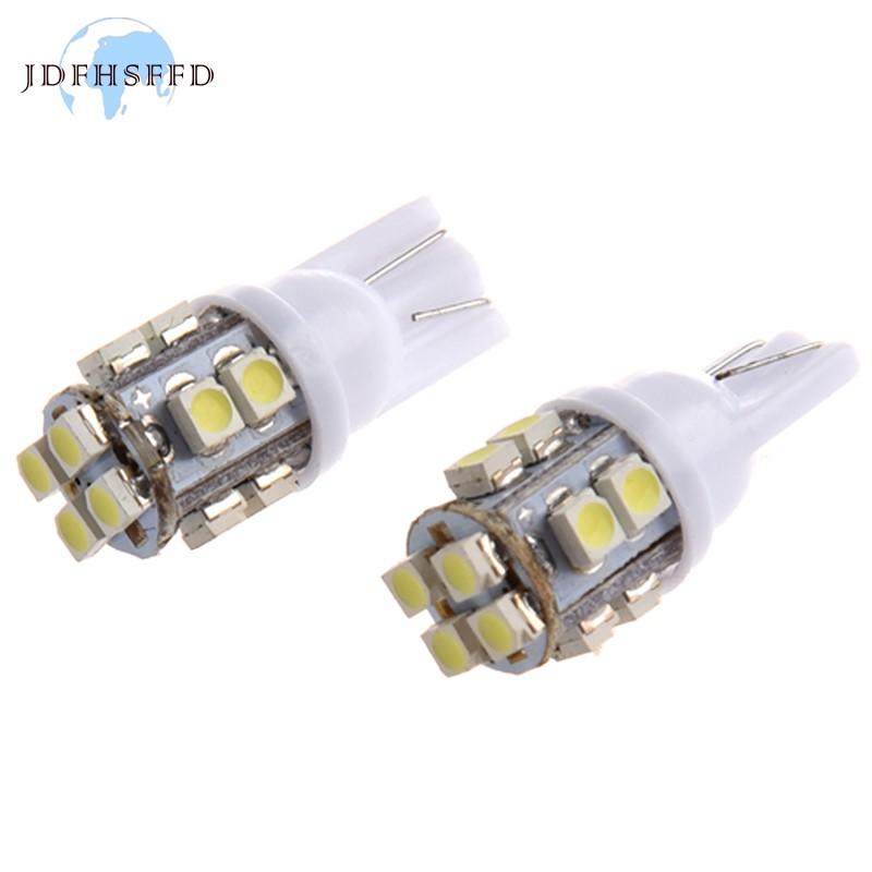 501,W5W,T10 2x White 12-SMD LED COB 12v Number Plate Light Bulbs