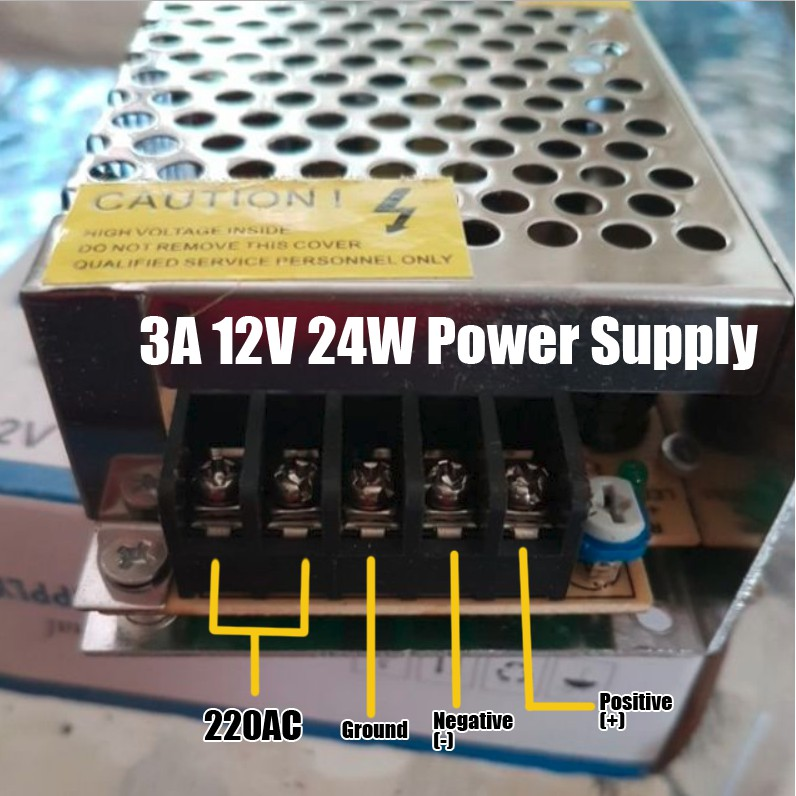 BIGLITE 12V Transformer Power Supply 3A, 5A, 10A | Shopee Philippines
