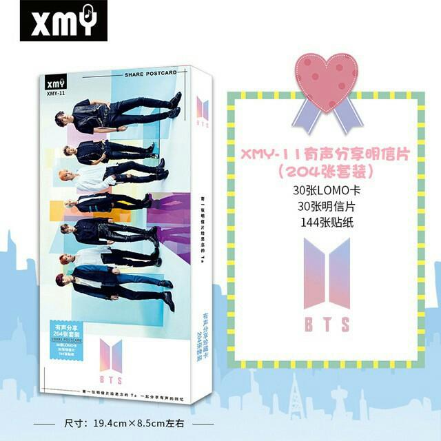 Kpop post cards BTS/BLACKPINK/EXO/TWICE/WANNAONE (180PCS)