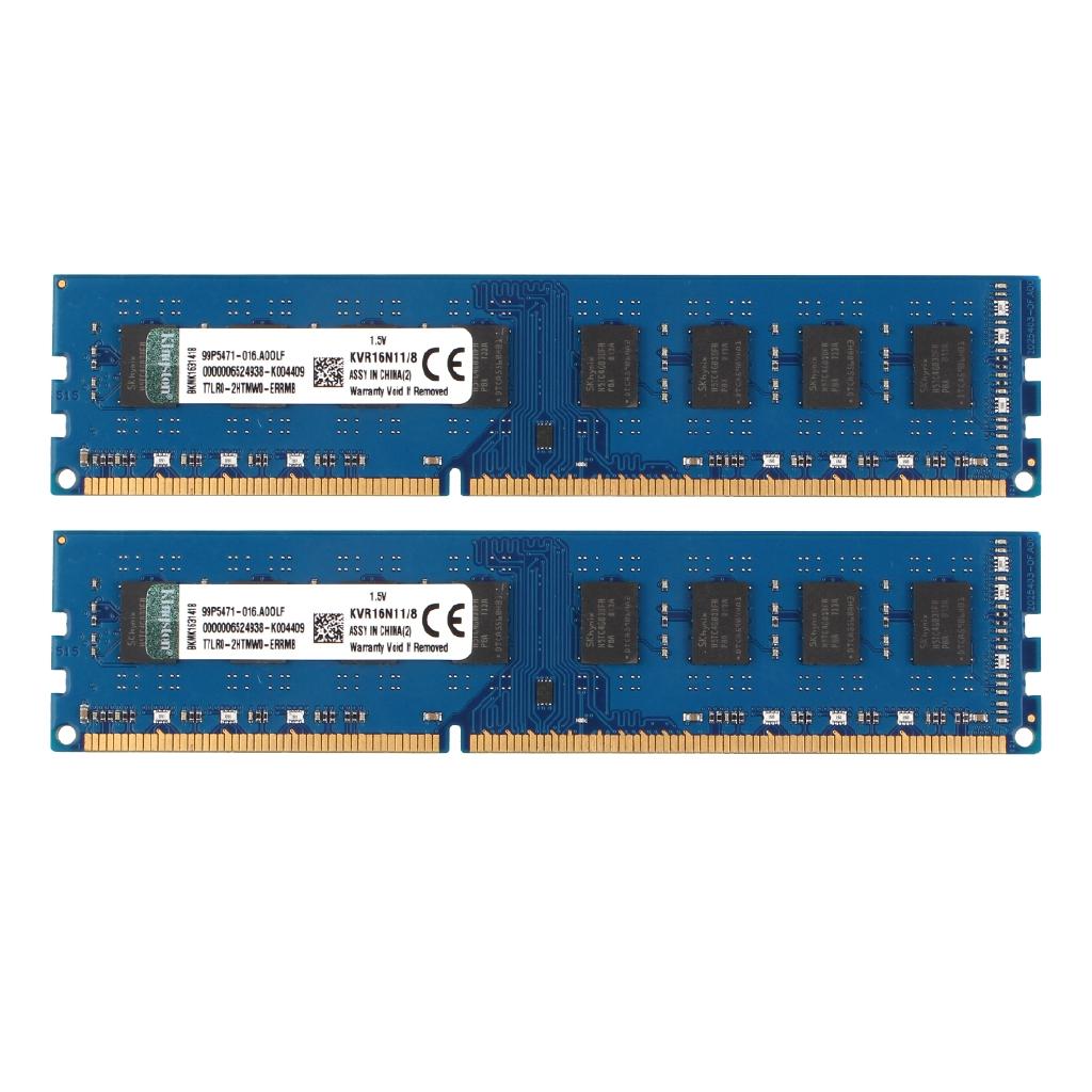 Lot for Samsung 4GB 2Rx8 PC3-12800U DDR3 1600Mhz 240PIN DIMM RAM Memory Desktop